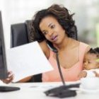 Working mothers are 40% more likely to be stressed than other people