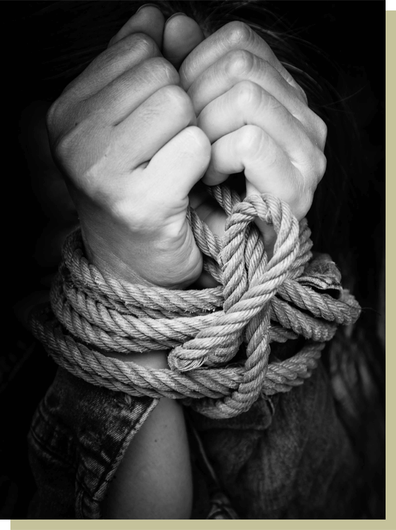 Against Human Trafficking - Manwood James