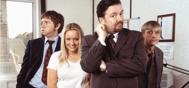 The Office – 2001 ……how time flies.